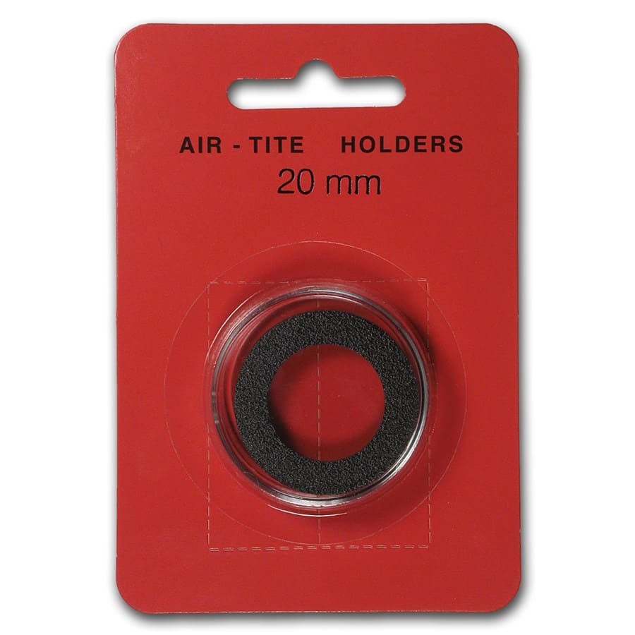 Air-Tite Holder w/Black Gasket - 20 mm